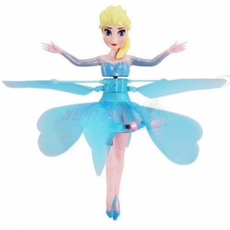 Létající princezna Elsa