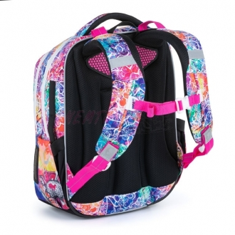 Bagmaster Školní batoh pro prvňáčky BAGMASTER LUMI 21 A COLOURFUL