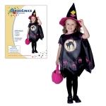 Dětský karnevalový kostým ČARODĚJNICE