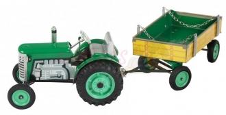 Kovap traktor ZETOR s valníkem