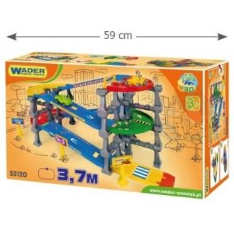 WADER 53120 Kid Cars 3D Kaskáda 5 pater