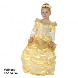Karnevalový kostým KRÁSNÁ PRINCEZNA