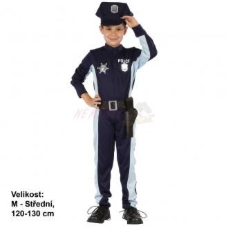 Karnevalový kostým POLICISTA