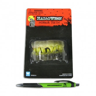 Zuby strašidelné