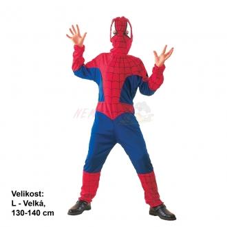 Karnevalový kostým PAVOUČÍ HRDINA