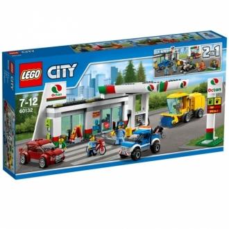 LEGO City 60132 Sopka Benzínová stanice