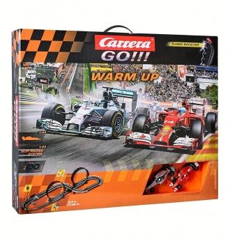 Autodráha Carrera GO!!! Warm Up