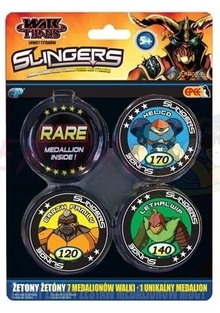 Slingers - Blister, 8 ks v balení