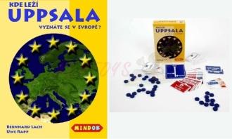 Mindok hra Kde leží Uppsala?