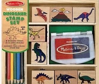 Razítka - dinosauři
