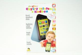 Dětský chytrý telefon s hudbou