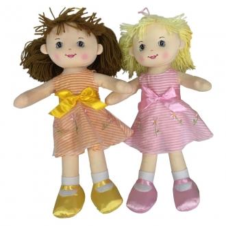 Textilní panenka se zvukem