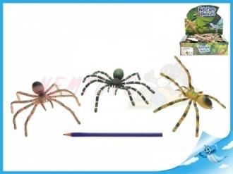 Pavouk s ohebnými nohami  7x16cm 4druhy