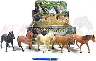 Kůň plast 18-23cm asst 8 druhů