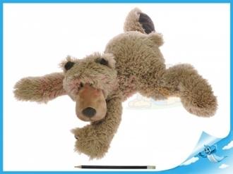 Medvěd plyšový 46cm ležící 0m+