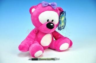 Medvídek růžový svítící
