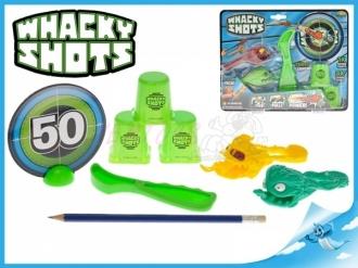 Whacky Shots 9,5cm 2ks s doplňky na kartě