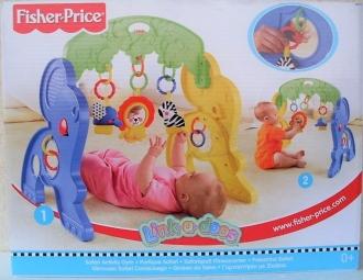 Fisher Price dětská hrací hrazda Safari