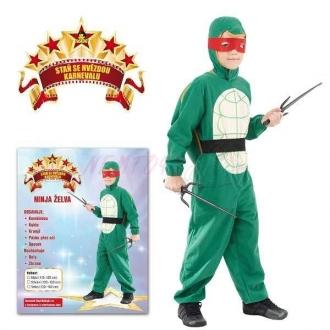 Karnevalový kostým NINJA ŽELVA