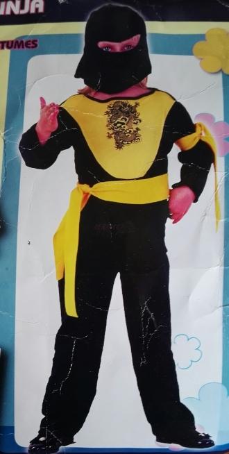 Karnevalový kostým MALÝ NINJA