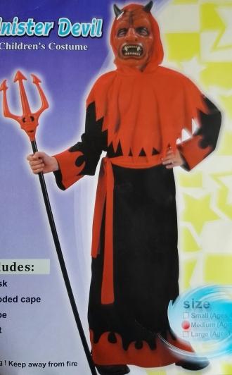 Karnevalový kostým STRAŠLIVÝ ČERT