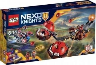 LEGO Nexo Knights 70314 Krotitelův vůz chaosu