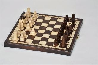 Exkluzivní dřevěné šachy