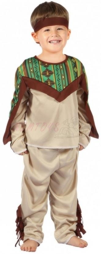 Karnevalový kostým INDIÁN