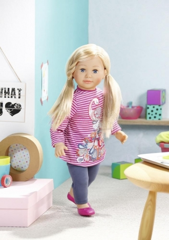 Zapf panenka Sally blondýna