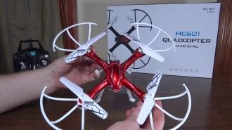 R/C DRON HC 601 QUADCOPTER S KAMEROU
