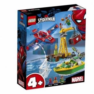 Lego Super Heroes Spiderman 76134 Doc Ock a loupež diamantů