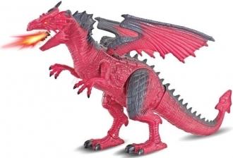 Wiky Firegon (ohnivý drak) s efekty RC 45 cm
