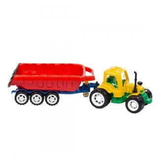 Traktor Maxi s vlekem