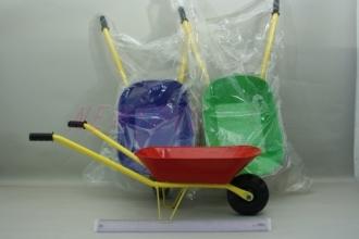 Kolečko dětské kovové na písek 80cm -3 barvy