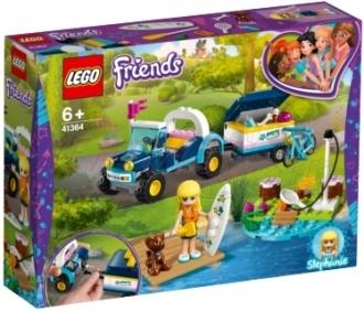 LEGO® Friends 41364 Stephanie a bugina s přívěsem