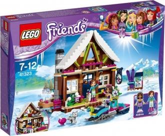 Lego Friends 41323 - Chata v zimním středisku