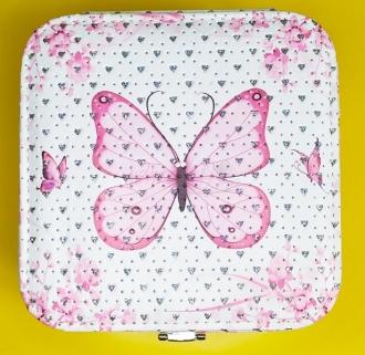 Šperkovnice s motýlkem