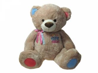 Medvěd Matěj sedící 120 cm