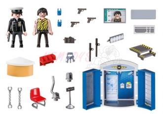 PLAYMOBIL® City Action 70306 Hrací box - Policejní stanice