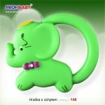 Hračka s úchytem-gumové kousátko
