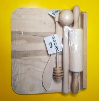 Kuchyňská souprava dřevěná