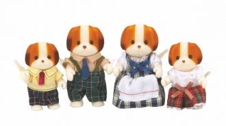 Sylvanian Families Rodina Chiffon psů