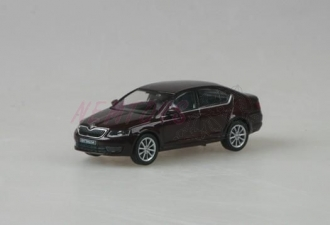Škoda Octavia III (2012) 1:43 - Rosso Brunello Metalíza