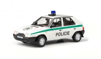 Abrex Škoda Favorit 136L (1988) Policie 1:43