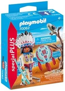 PLAYMOBIL® Special Plus 70062 Indiánský náčelník
