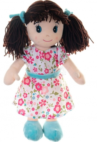 Mluvící textilní panenka Ema 40 cm