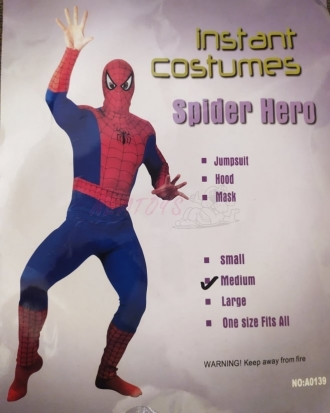 Dětský karnevalový kostým Pavoučí muž