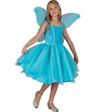 Šaty na karneval - víla, 130-140 cm
