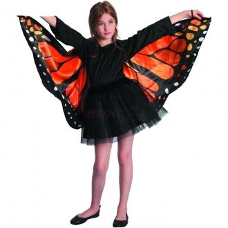 Dětský karnevalový kostým - motýl , UNI