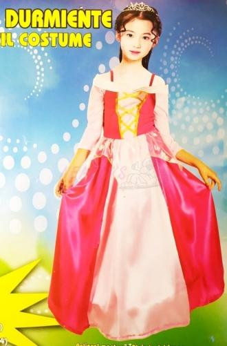Dětský karnevalový kostým -Princezna růžová